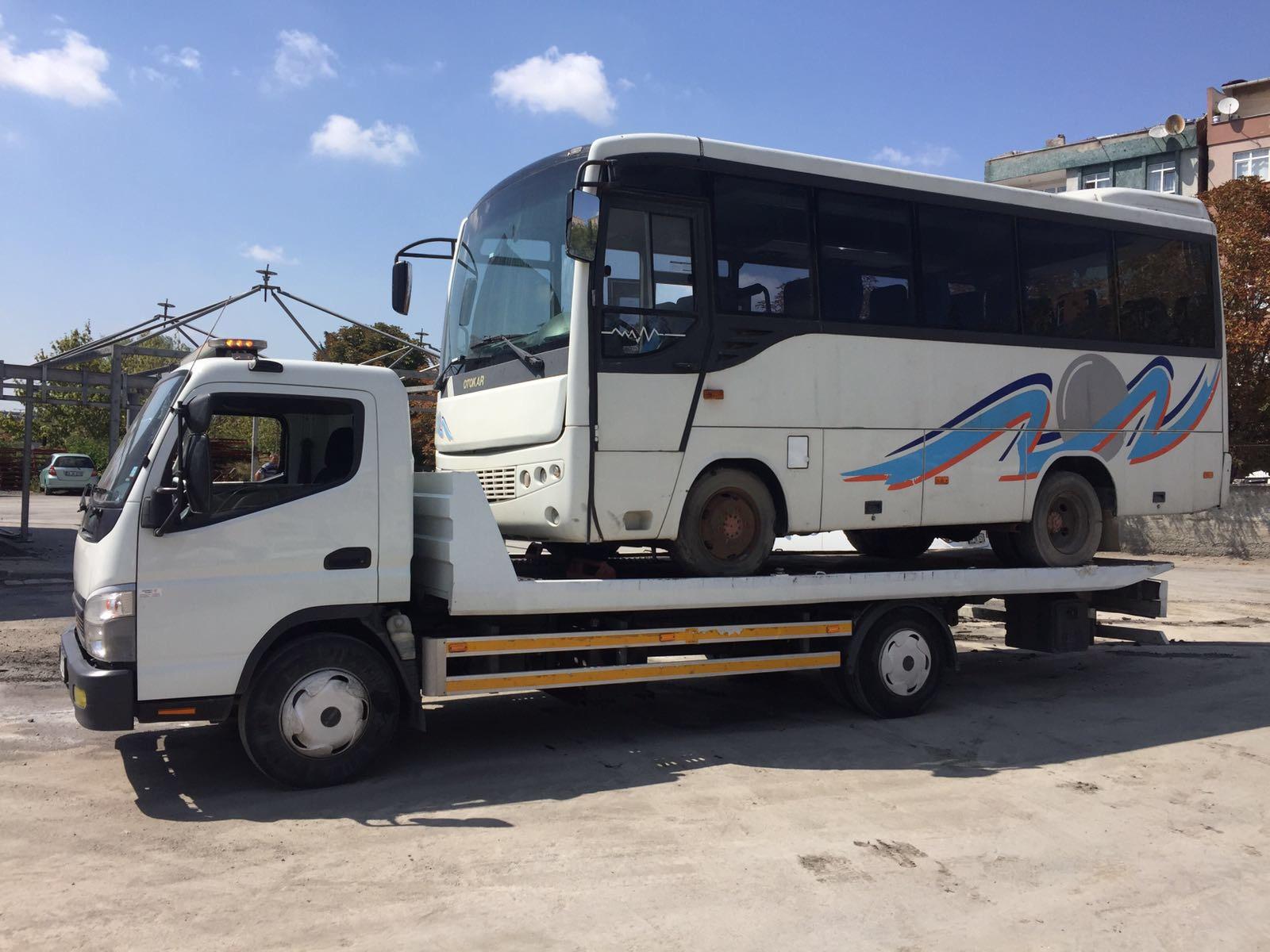 otobüs çekici