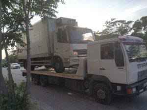 iş makinası taşıma